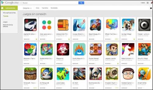Juegos Sin Conexion En Google Play Evitando Los Juegos Que