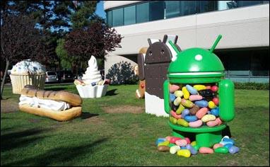 Aparecen nuevos rumores sobre Android 4.2 y el programa Nexus Nueva-estatua-Jelly-Bean